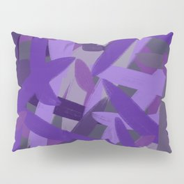 Hurry Purple Pillow Sham
