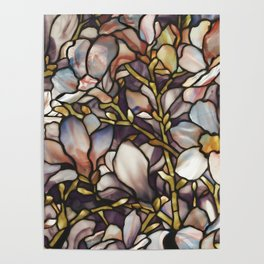 Louis Comfort Tiffany - Decorative stained glass 10. Poster