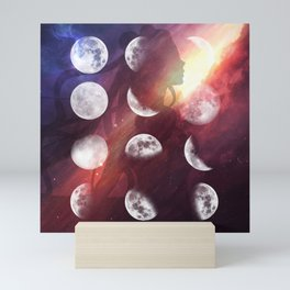 Moon Goddess Selene Mini Art Print