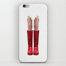 My lovely rain booths iPhone & iPod Skin