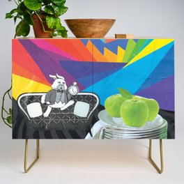 Exactly Two Days Slow Credenza