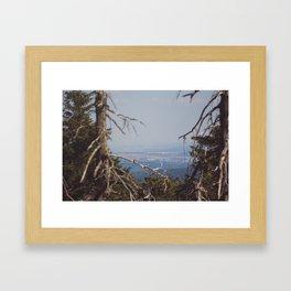 Brocken View II Framed Art Print