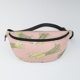 Lemongrass in Pink Fanny Pack