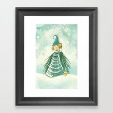 Goblins Drool, Fairies Rule! - Snowflake Shelly Framed Art Print
