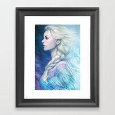 Frozen Framed Art Print