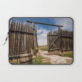 Historic Fort Bridger Gate - Wyoming Laptop Sleeve