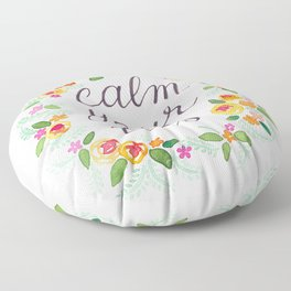 Calm Your Tits Floor Pillow