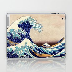 Katsushika Hokusai The Great Wave Off Kanagawa Laptop & iPad Skin