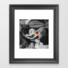 Consensually So Framed Art Print