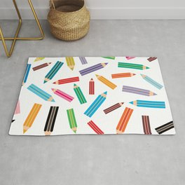 pencils Rug