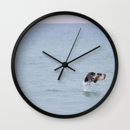 Coming up Empty Wall Clock