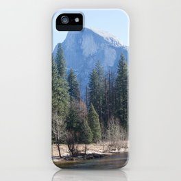 Half Dome and Merced River iPhone Case