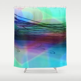 Cubic Shower Curtain