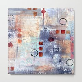 abstract collective: lazy dayz Metal Print