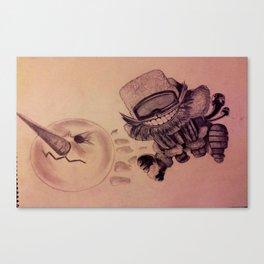 Ziggs Canvas Print