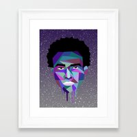 childish gambino Framed Art Prints featuring Childish Gambino by G-Fab