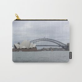 Sydney Opera House and Harbour Bridge Carry-All Pouch