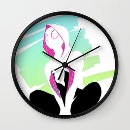 SpiderGwen Wall Clock