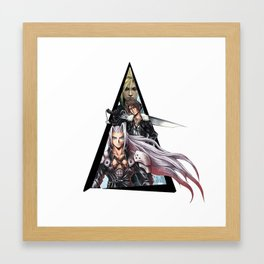Youtriangle ∆ Final Fantasy Framed Art Print