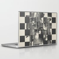 grand theft auto Laptop & iPad Skins featuring Identity Theft by Heinz Aimer