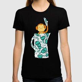 Dinnerware sets - Monkey in a jug T-shirt