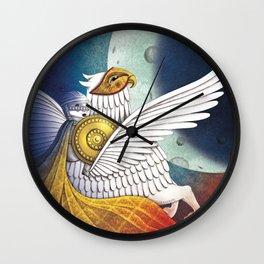 La donna, l'ippogrifo e la Luna. Festival della Valle D'Itria_2017 Wall Clock