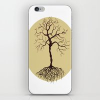 tree of life iPhone & iPod Skins featuring life tree by Mihai Paraschiv