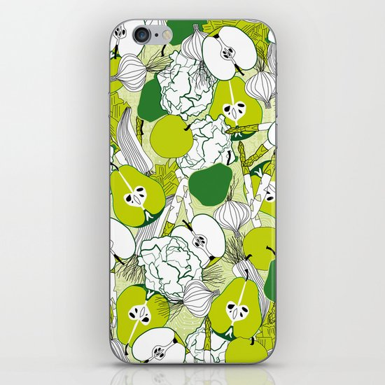 Vegetable pattern iPhone & iPod Skin