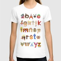muppet T-shirts featuring The Great Muppet Alphabet (the sequel) by Mike Boon