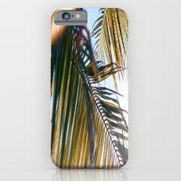 Glow Palms iPhone Case