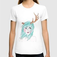 antler T-shirts featuring Antler by okayleigh