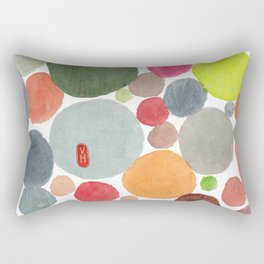 Happy heart Rectangular Pillow