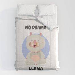 drama free llama Comforters
