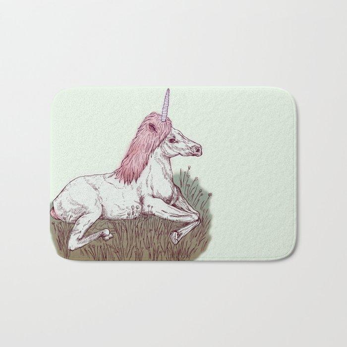 The Resting Unicorn Bath Mat