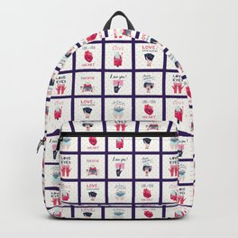 BE MY VALENTINE! Backpack