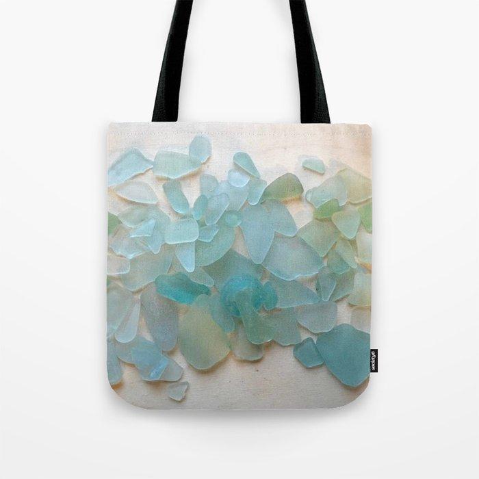 Ocean Hue Sea Glass Umhängetasche
