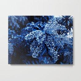 Botanica blue Metal Print