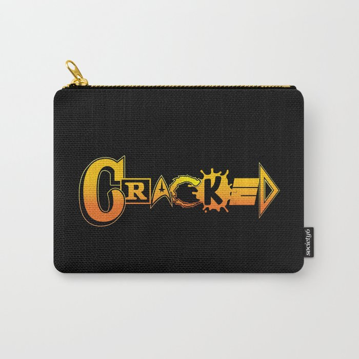 Elements of Cracked Carry-All Pouch