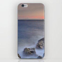 """""""The struggle of the sea"""" iPhone Skin"""