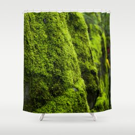 Mossy Mood Shower Curtain