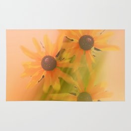 4 Sunflowers Rug
