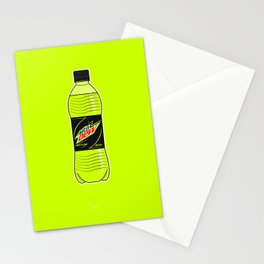 Mtn Dew Bottle Stationery Cards