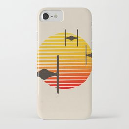 tie fighter, wars star iPhone Case