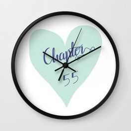 Chapter 55, ACOMAF Inspired Wall Clock