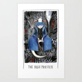 The High Priestess - Tarot Collection Art Print