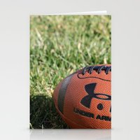 football Stationery Cards featuring Football by Images by Danielle