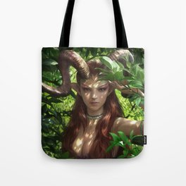 Bariaur In The Forest Tote Bag