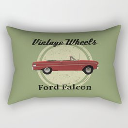 Vintage Wheels - Ford Falcon Rectangular Pillow
