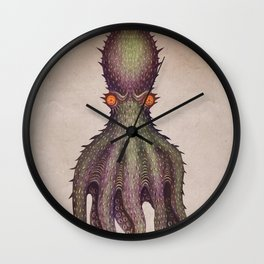 Gigantic Octopus Wall Clock