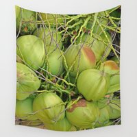 coco Wall Tapestries featuring Coco HH01562 by BEID Arts